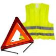 Аварійні знаки та сигнальні жилети