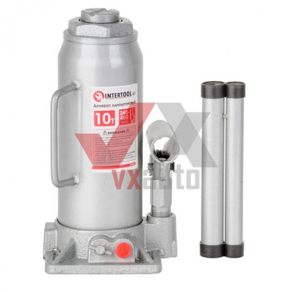 Домкрат гідравлічний 10 т 230-460 мм Intertool (