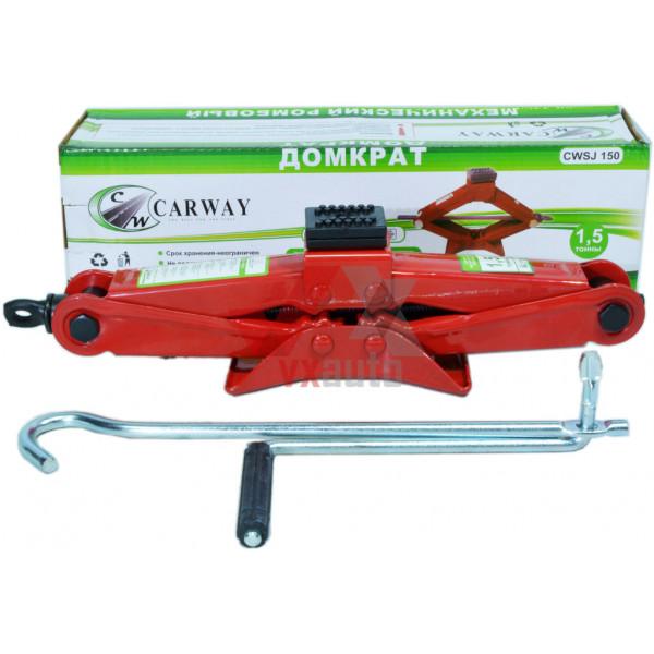 Домкрат механічний 1.5 т 110-360 мм Carway (ромб)