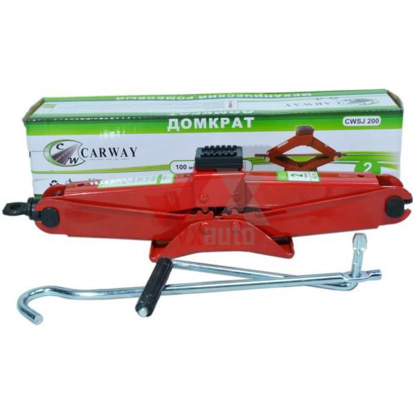 Домкрат механічний 2 т 100-380 мм Carway (ромб)