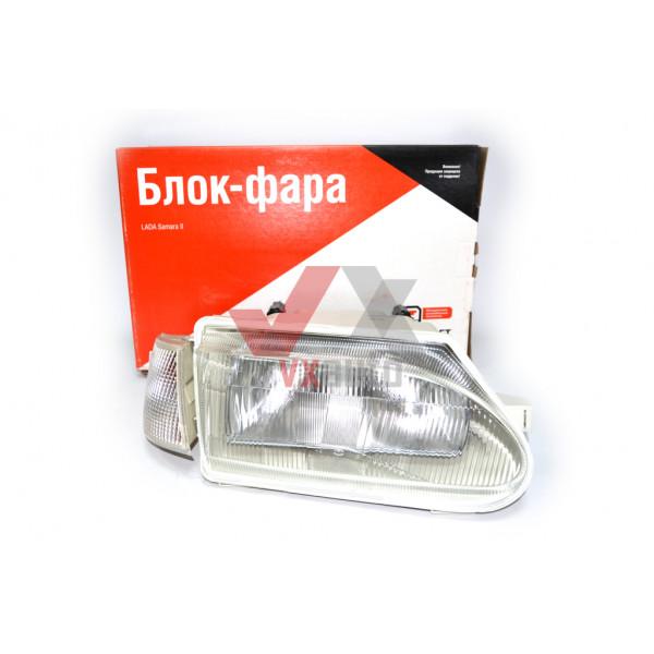 Фара ВАЗ 2115 Освар  права з білим показчиком повороту