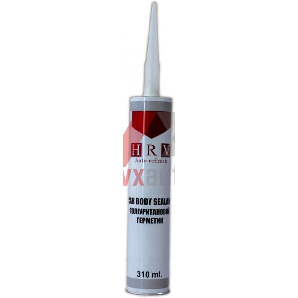 Герметик кузова поліуретановий 310 мл білий HRV