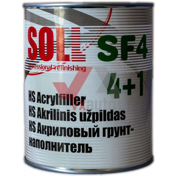 Грунт акриловий 4:1  1.0 л темно-сірий SOLL HS SF4
