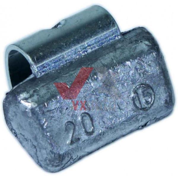 Груз ALU 20 г набивний на алюмінієвий диск ТІР ТОР (Perfect)