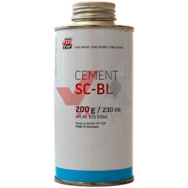 Клей шиномонтажний безкамерний 200 г/230 мл ТІР ТОР (Cement SC- BL)