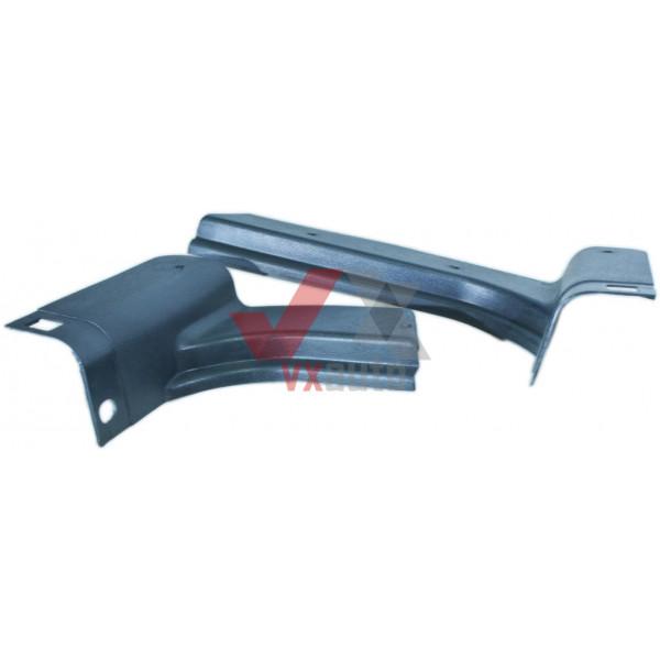 Обшивка стойки передка ВАЗ 2108 пластик низ 5402204/205