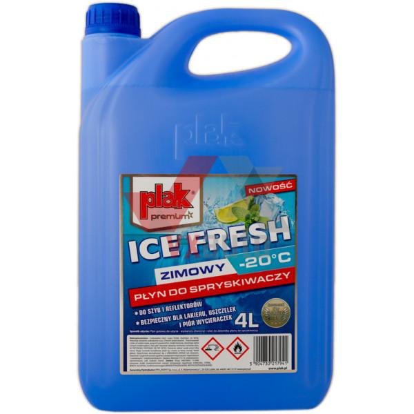 Омивач скла зимовий 4 л Atas plak ICE FRESH -20°C