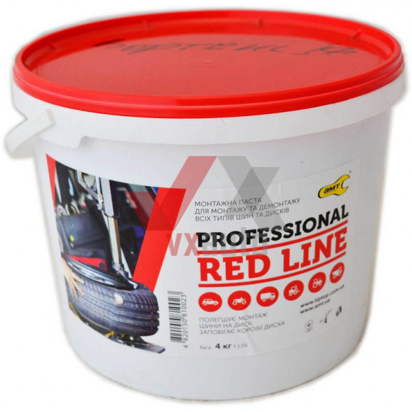 Паста монтажна  4 кг Professional Red Line