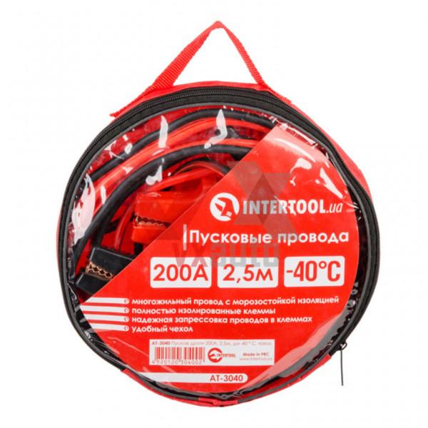 Пускові дроти 200 А 2.5 м Intertool