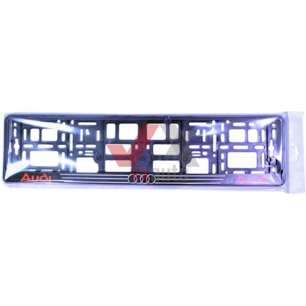 Рамка під номер (універсальна)  напис AUDI, шт