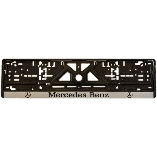 Рамка під номер (універсальна)  напис MERCEDES, шт