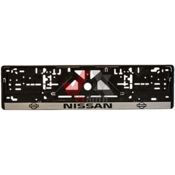 Рамка під номер (універсальна)  напис NISSAN, шт