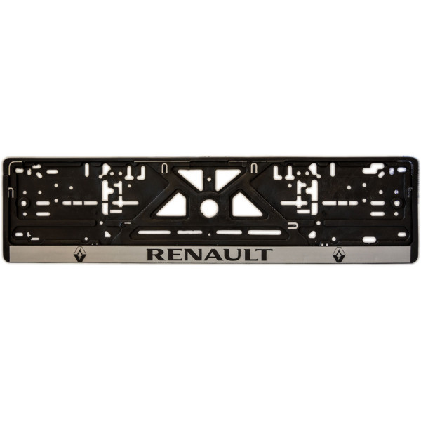 Рамка під номер (універсальна)  напис RENAULT, шт