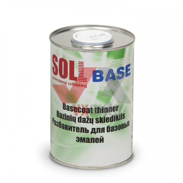 Розчинник для емалей базових 1 л SOLL Base