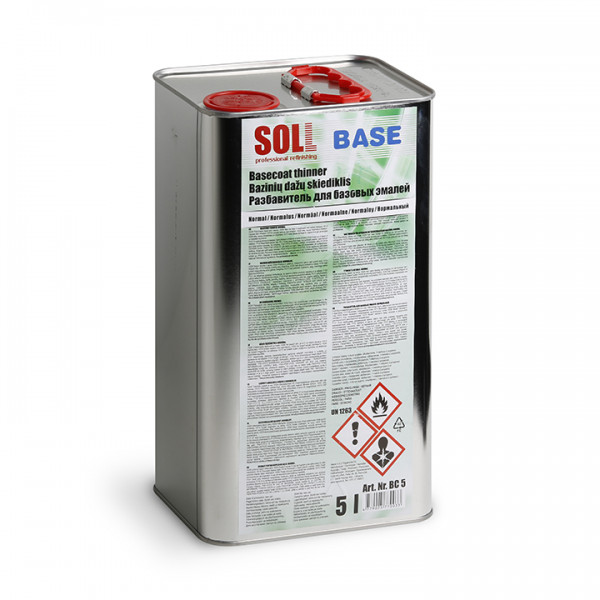 Розчинник для емалей базових 5 л SOLL Base