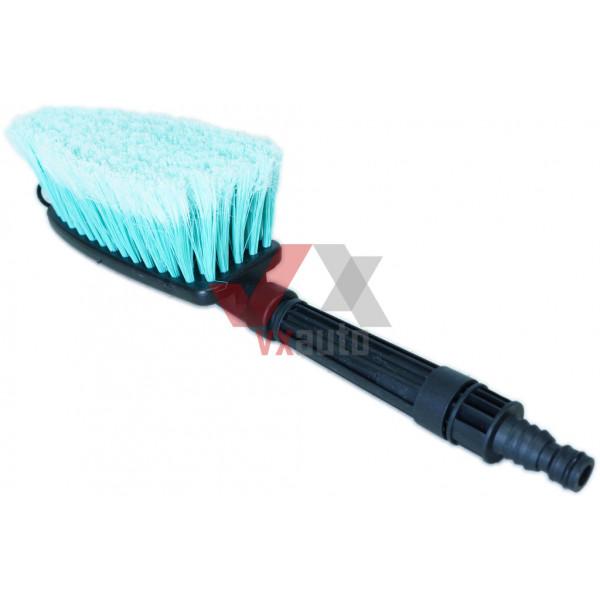 Щітка для миття машини, ручна з насадкою під шланг без ручки
