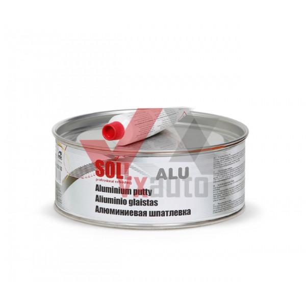 Шпаклівка з алюмінієм 1.0 кг SOLL Alu (теплостійка)