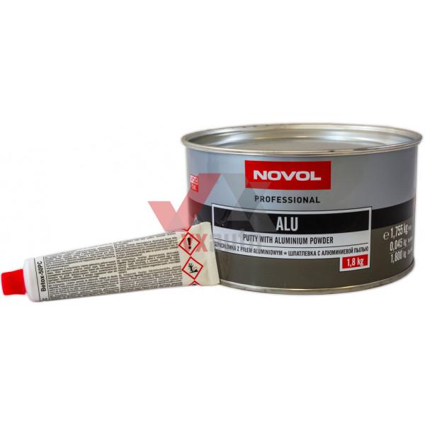 Шпаклівка з алюмінієм 1.8 кг NOVOL Alu