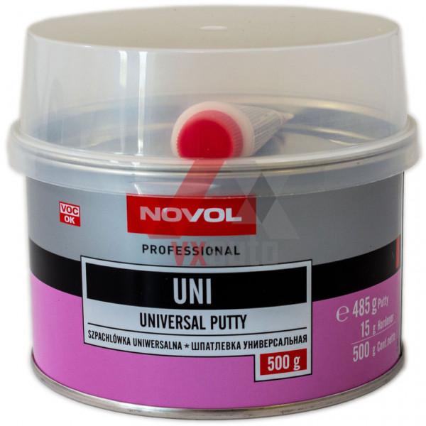 Шпаклівка універсальна 0.5 кг NOVOL Uni
